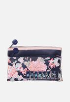 Cotton On - Personalised dual zip cosmetic case