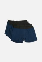 basicthread - Boxers 5 pack - navy