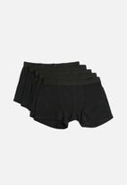basicthread - Boxers 5 pack - black