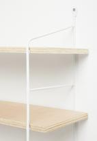 Sixth Floor - Deco shelf - white