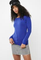 Cotton On - Everyday long sleeve crew neck top