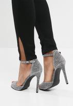 New Look - Glitter stiletto - silver