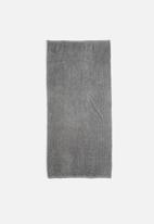 Linen House - Reed guest hand towel - grey