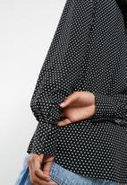 dailyfriday - Oversize shirt - black & white