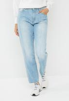 G-Star RAW - 3301 high waisted straight 90's jeans - blue