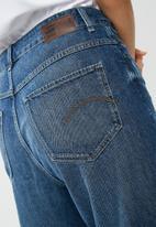 G-Star RAW - Midge deconstructed high waisted boyfriend jeans - blue