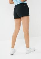 Converse - Core draw string shorts - black