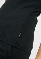 Converse - Core crew short sleeve tee - black