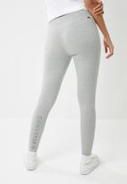 Converse - Core reflective wordmark leggings - grey