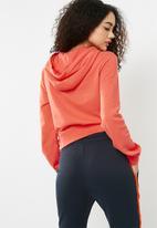 Nike - Swoosh hoodie - coral