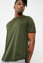 basicthread - Crew neck tee - green