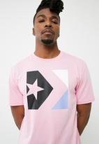 Converse - Star chevron tee - pink