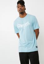 Converse - Essentials graphic tee - blue