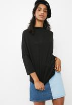 dailyfriday - Oversize knit top - black