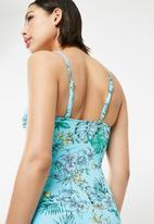 Dorina - Sea breeze swimsuit - blue