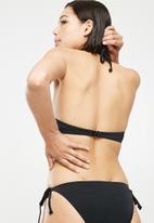 Dorina - Bora bora triangle bikini top - black