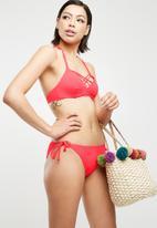 Dorina - Bora bora triangle bikini top - coral