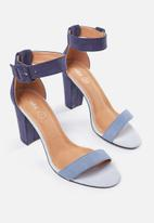 Cotton On - San Sebastian heel - blue