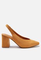 Cotton On - Davis block heel - tan