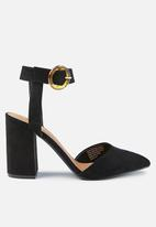 Cotton On - San Leigh heel - black
