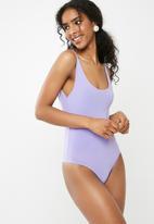 Missguided - Slinky bodysuit - purple