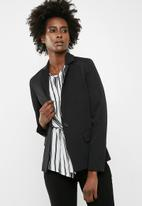 dailyfriday - Classic suit blazer - black
