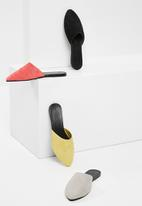 Vero Moda - Lia leather mule - black