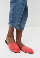 Vero Moda - Lia leather mule - coral