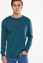 Cotton On - Tbar long sleeve - blue