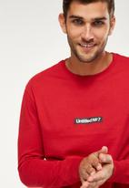 Cotton On - Tbar long sleeve - red
