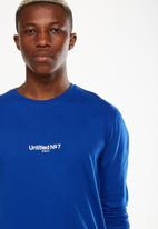 Cotton On - Tbar long sleeve - blue