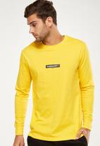 Cotton On - Tbar long sleeve - yellow