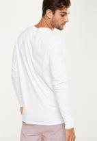 Cotton On - Tbar long sleeve - white