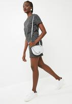 dailyfriday - Boucle blouse - black & white