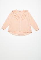 name it - Arsilla shirt - peach