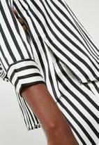 Pieces - Jessica shirt - black & white