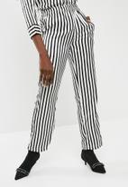 Pieces - Jessica pants - black & white