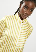 Pieces - Jessica shirt - yellow & white