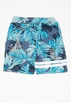 name it - Jungle shorts - blue