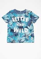 name it - Jungle top - blue