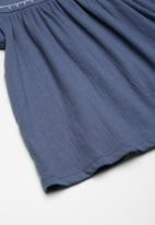name it - Arikke pap sleeve top - blue