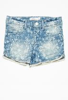 name it - Salli shorts - blue