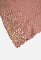 ONLY - Laya knit scarf  - pink