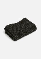ONLY - Annie metallic knit tube scarf - multi