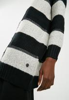 ONLY - Maria cardigan knit - black