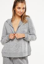Cotton On - Super soft zip top - grey