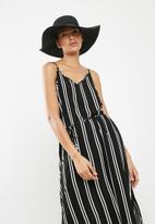 ONLY - Novia straw hat - black