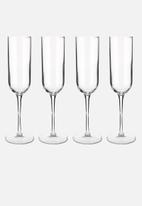Luigi Bormioli - Sublime champagne flute - set of 4