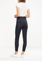 Cotton On - High rise grazer skinny jean - blue