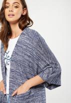 Cotton On - Kimono cardigan - navy